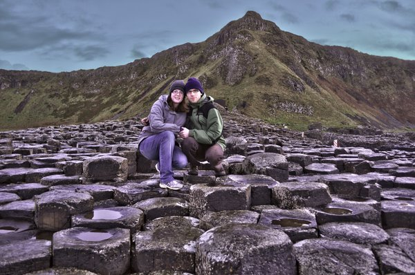 Us at Giant's Causeway