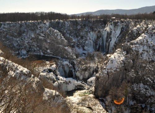Plitvicka Jezera in winter